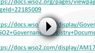 WSO2 Governance Registry: Connectors to the External World